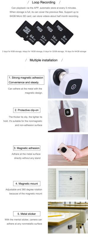 C9 Camsoy Cookycam WiFi Mini Camera Night Vision (6)
